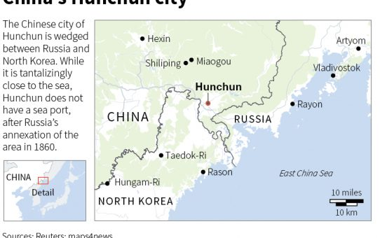 Borderline cases_#1: Hunchun, China: the golden triangle