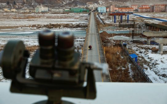 Borderline cases_# 5: Tumen, China: looking back in time