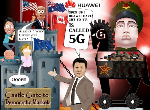 5G: USA, UK & Europe. Go Dutch?